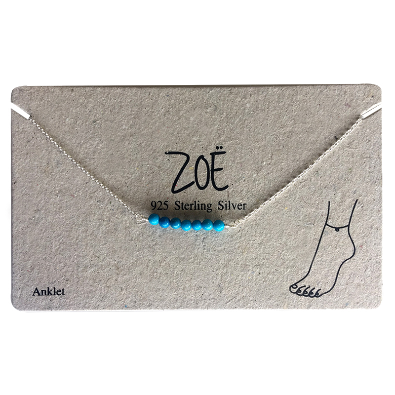 ZOË Ankle Strap Beads