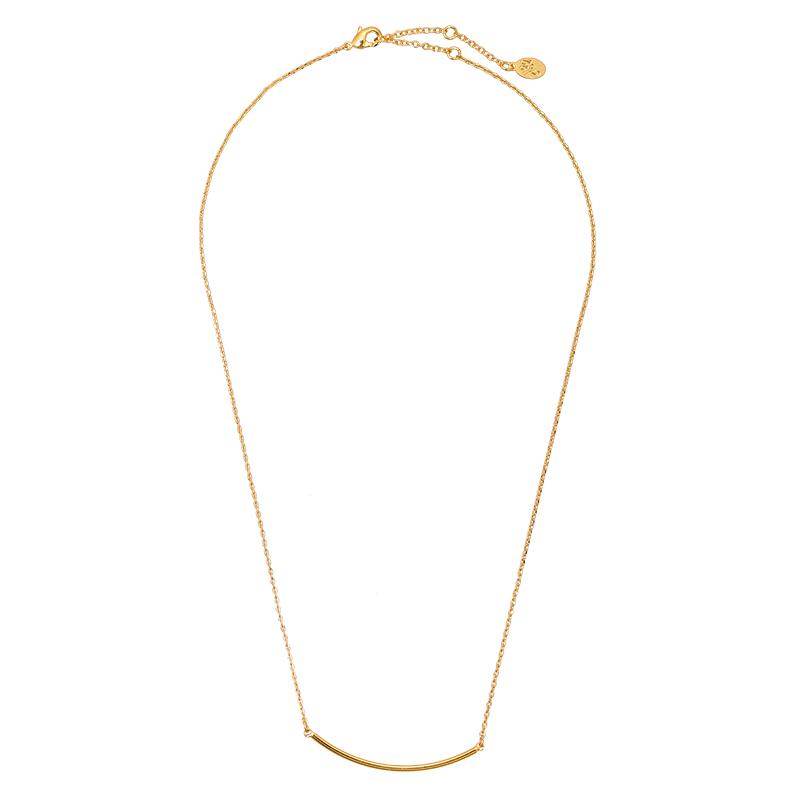 Necklace Minimalistic Bar