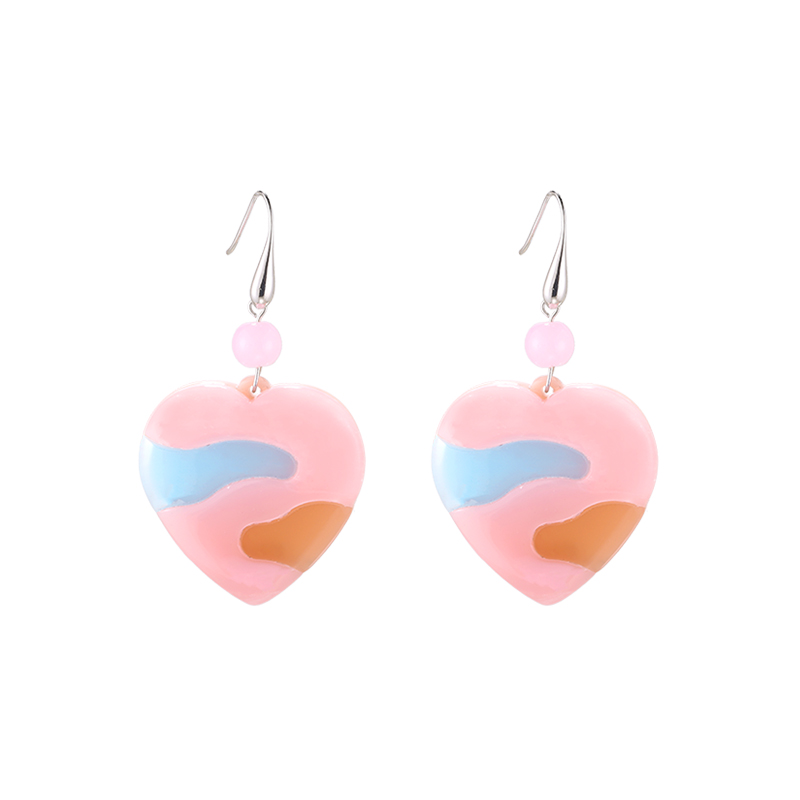 Earrings Abstract Heart