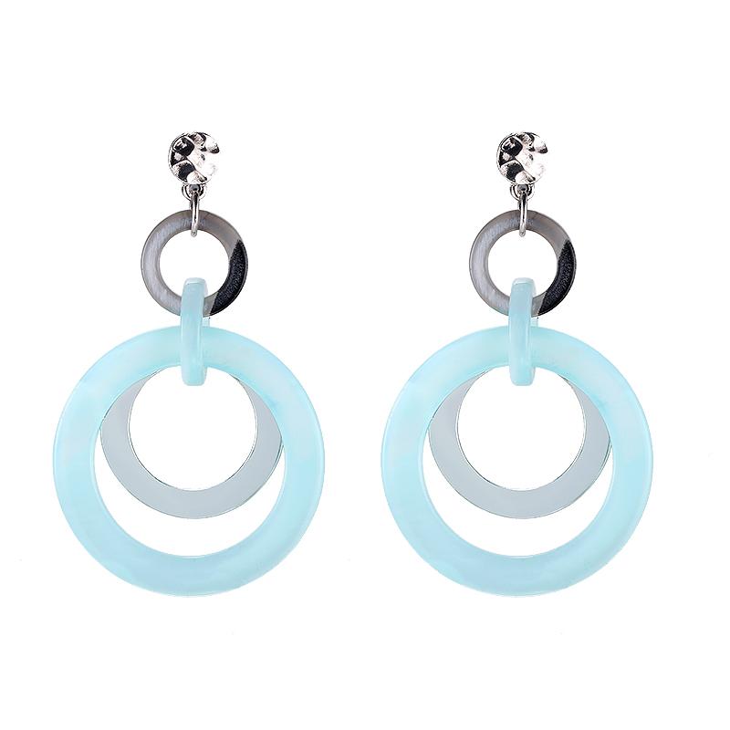 Earrings Circle & Circle