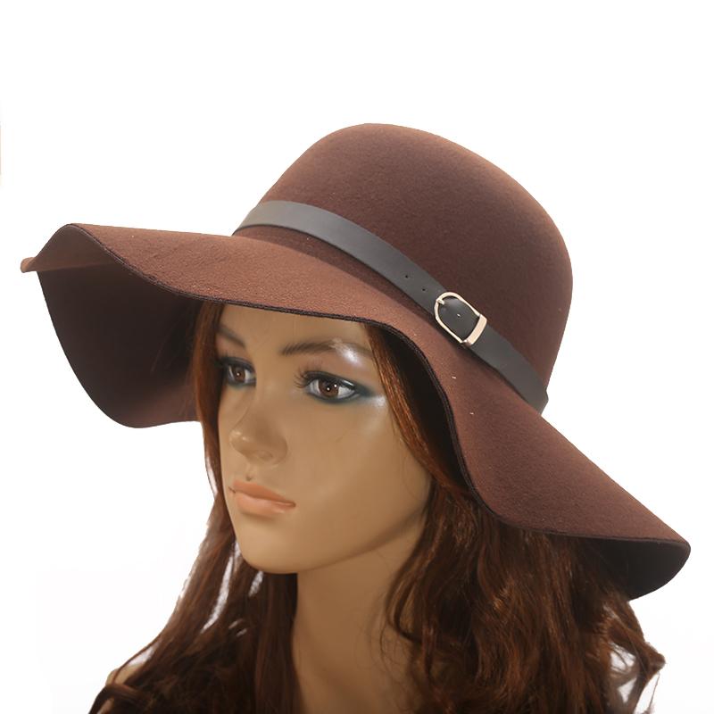 Hat Fashion -Brown-