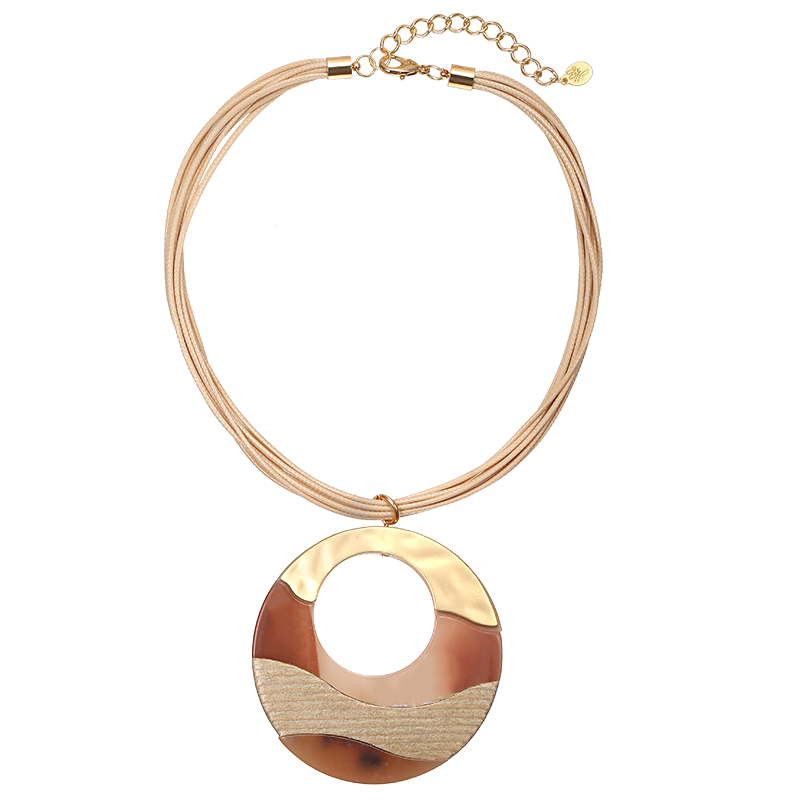 Necklace Big Circle